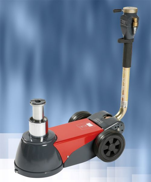 Portable Air Over Hydraulic Jack Ideal for Field Use