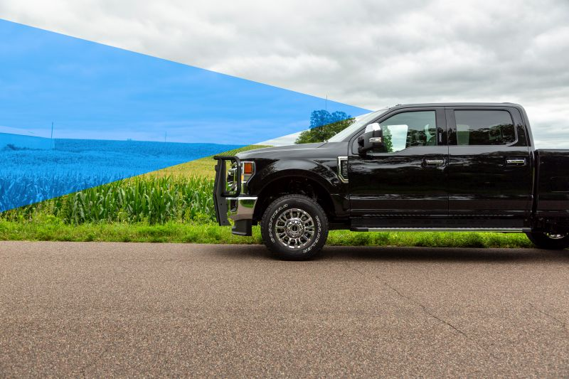 Luverne Grille Guard Clears Visibility for Ford Co-Pilot 360