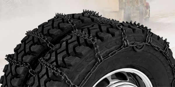 Grip Link highway tire chains come in 7 mm steel wire V-bar and square link designs and are...