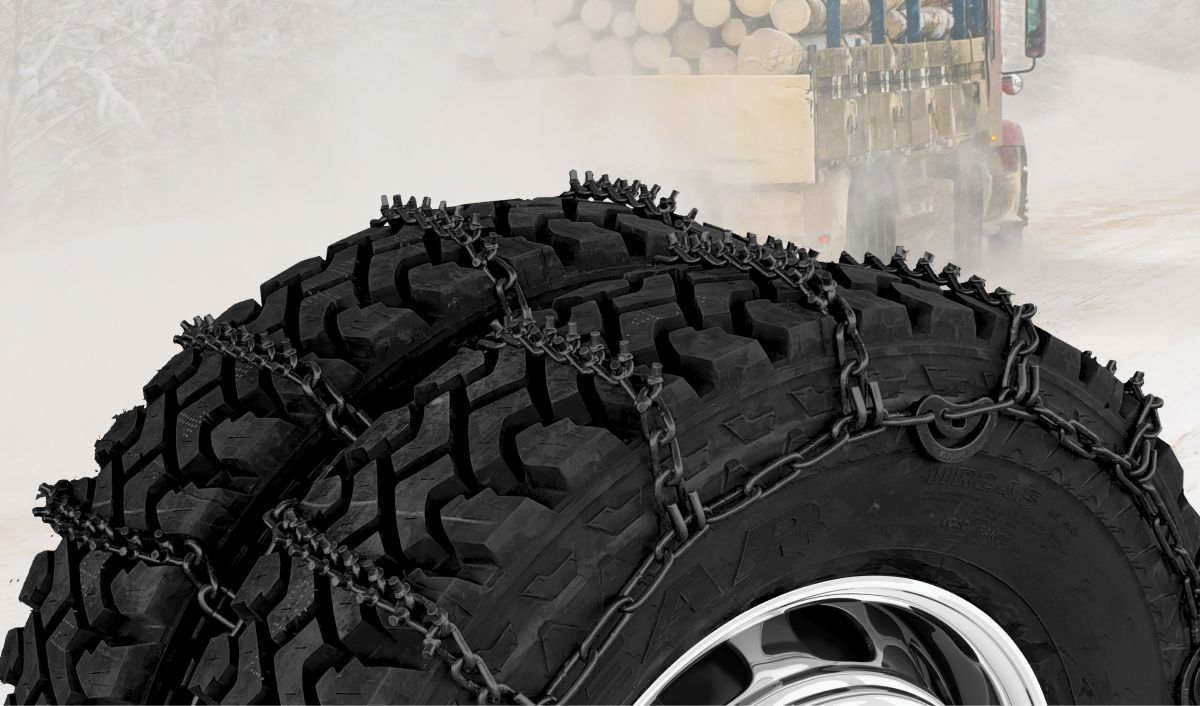 Kinedyne Grip Link Tire Chains Help Trucks Go Farther