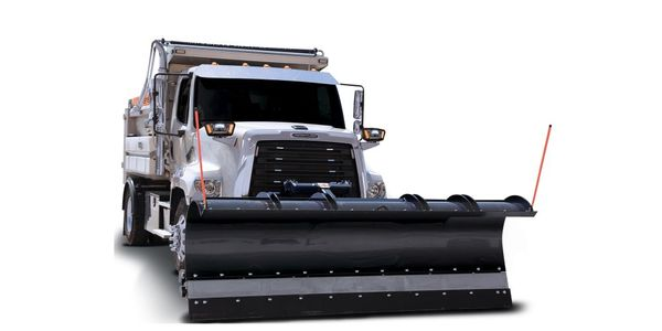 A fully boxed A-frame spread keeps the plow close to the truck for enhanced maneuverability and...