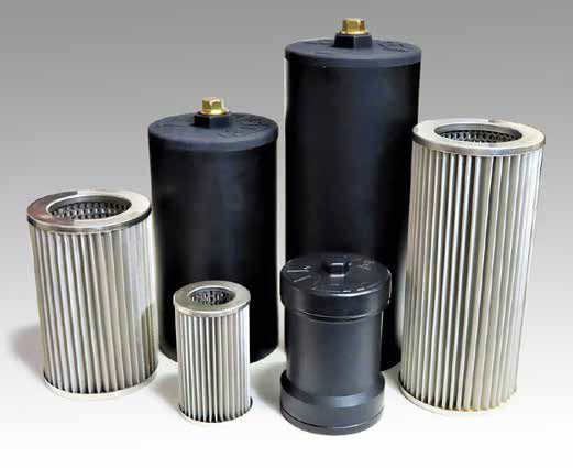 """System 1's 600 Series filters measure 3-3/4"""" in diameter   and are 5-3/4"""" long and intended for light truck use. - Photo: System 1"""