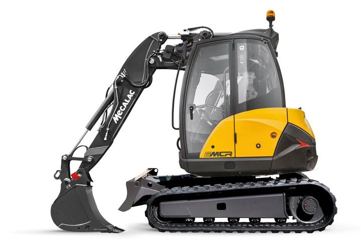 Mecalac introduces its innovative line of crawler skid-excavators — the new MCR Series — for superior speed, productivity and compact operation. - Photo: Mecalac