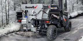 SnowEx HELIXX Hopper for Compact Trucks and UTVs