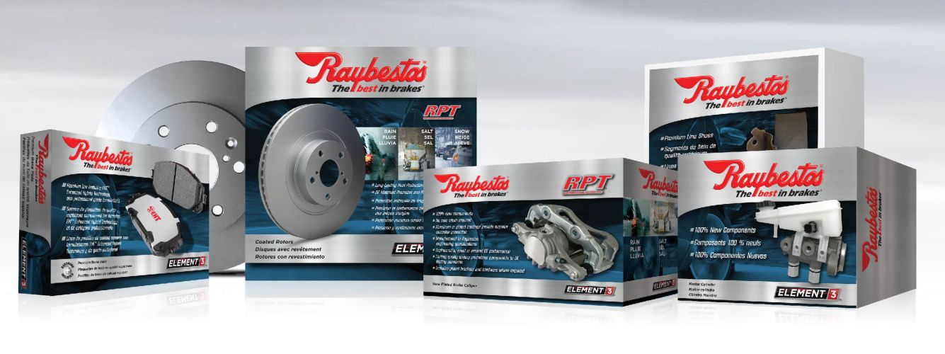 Raybestos Expands Caliper & Rotor Coverage