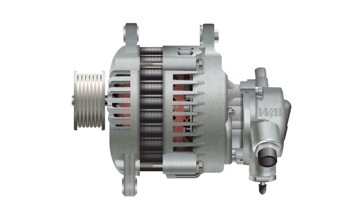 WAI alternators feature a high level of proven performance with thorough testing of output current at idle and full-load RPMs. - Photo: WAI Global