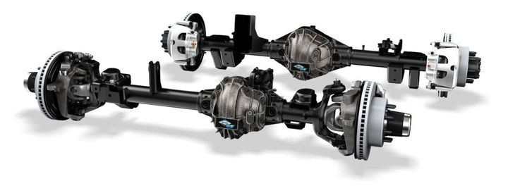 Specially engineered to be a direct-fit, bolt-in solution, Ultimate Dana 60 axles are designed to give Jeep owners a performance advantage across even the most brutal terrain. - Photo: Dana Incorporated