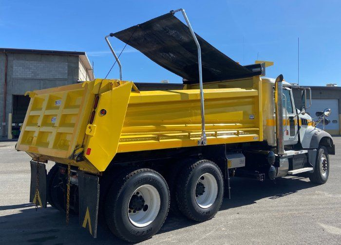 Safe-T-Lift by US Tarp is a first-fit option for new dump body installations. - Photo: US Tarp