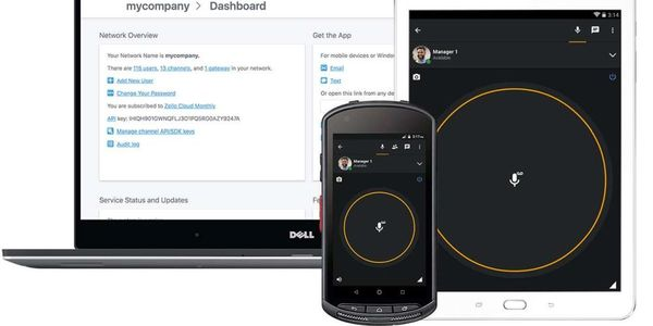 Zello allows businesses to use any smart device and mix of WiFi/data networks and the ability to...