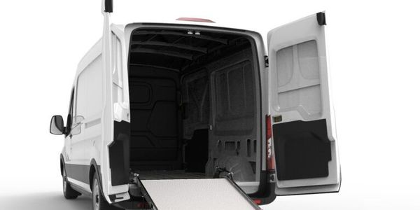 The ramp can be used on vehicles with deck heights ranging from 20 to 48 inches and door heights...