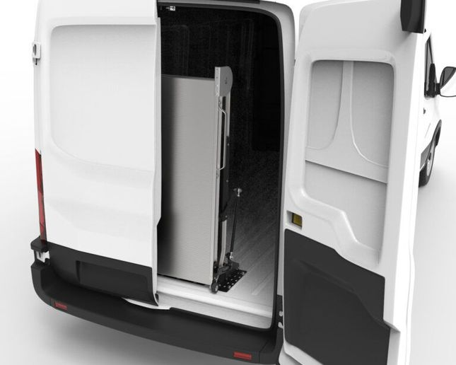 By stowing vertically inside the vehicle's cargo hold, the ramps are not exposed to the weather or road debris, and remain clean and dry prior to use. - Photo: Link Mfg.