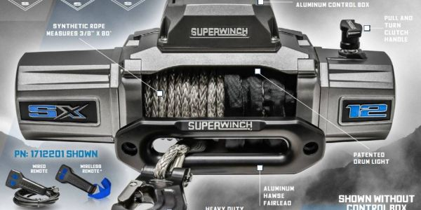 Superwinch SX 12 Series winches are engineered to provide users with power, speed, innovation,...