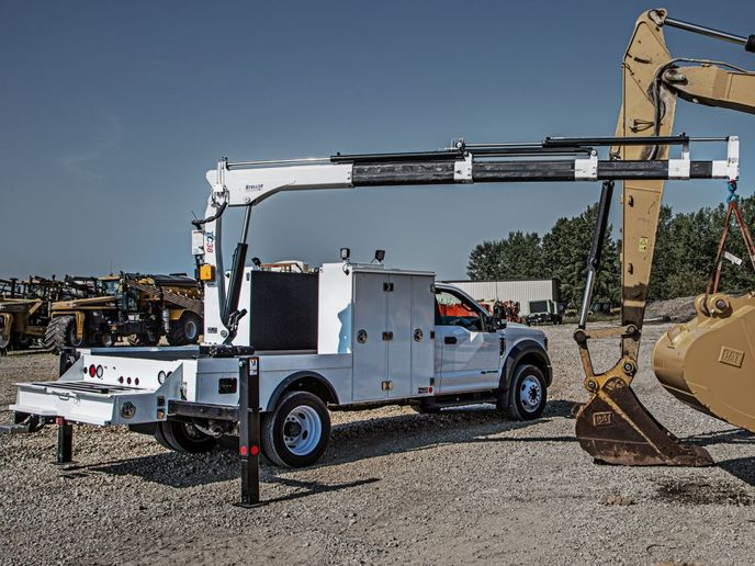 he TMAX 1-11 Welder Body uses stainless-steel billet style hinges, three-point stainless steel compression latches, and double spring over center door closures. - Photo: Stellar Industries