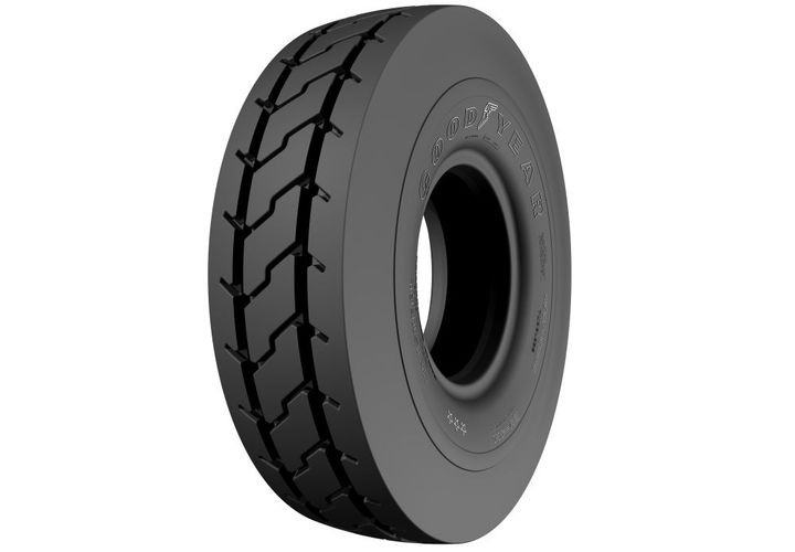 The EV-4M features an updated radial construction promoting a softer ride, improved tread wear and enhanced durability. - Photo: Goodyear