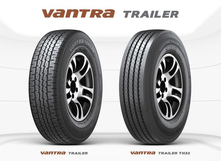 The Vantra Traile and are Hankook's first-ever products in the trailer segment. - Photo: Hankook Tire