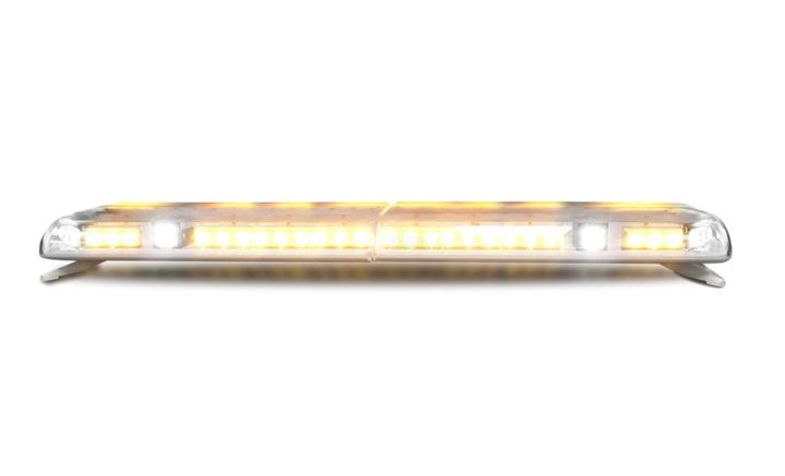 The 12+ Pro Vantage lightbar is a dual-color warning solution. - Photo: Ecco Group