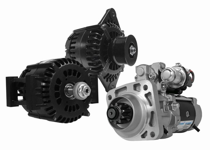 IdlePro alternators and starters are an ideal solution for medium-dutyand heavy-duty vocational truck applications - Photo: Prestolite