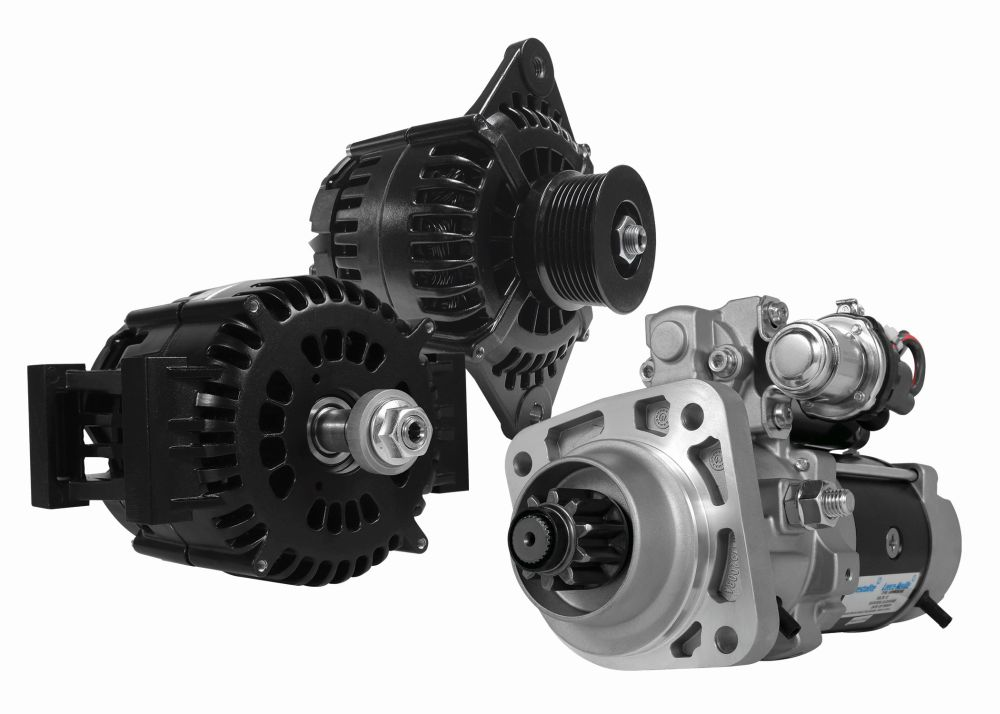 IdlePro Alternators and PowerPro Extreme Starters for Work Trucks