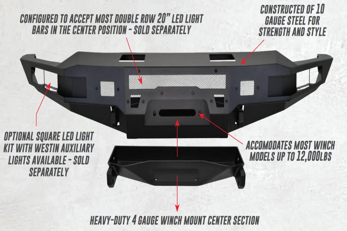 Westin Pro-Series Front Bumper