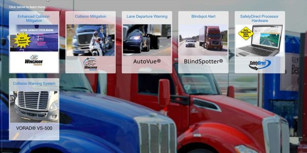 The upgrades are available for certain models manufactured by International Trucks, Kenworth...