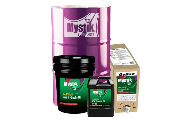 The premium oil is formulated for oil leakage and critical component protection. - Photo: Mystik