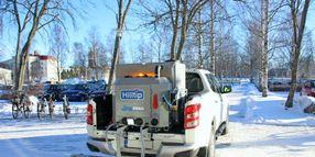 Hilltip HTrack System Standard On All IceStriker/SprayStriker Models