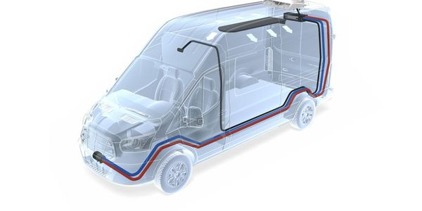 When specified and configured using their unique a la carte method, a Webasto aftermarket HVAC...