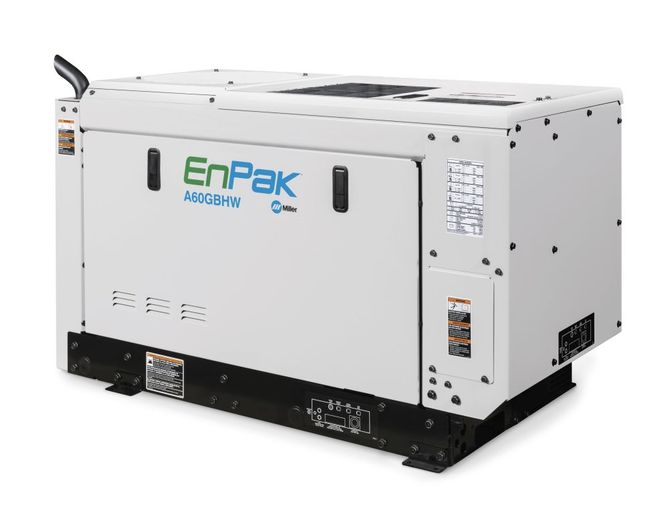 The expanded capabilities of the new EnPak A60 eliminate the need to carry additional equipment, maximizing available payload space. - Photo: Miller Electric Mfg.