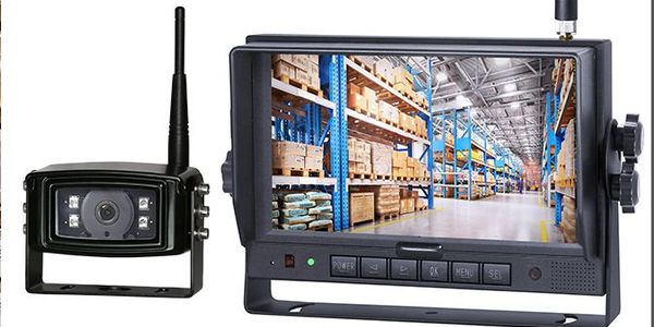 The CK700DW also comes with a seven-inch monitor featuring four HD camera inputs and up to...