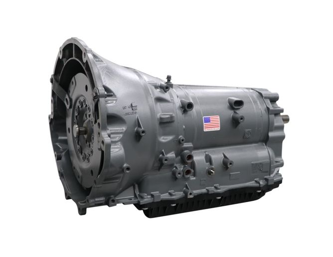 The Jasper remanufactured ZF 8HP70 includes the 100% installation of a Jasper-designed stepped pressure plate on the A & D clutch pack assembly. - Photo: Jasper Engines & Transmissions