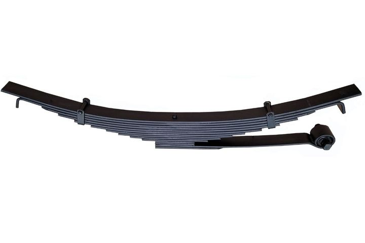 TRP Leaf Springs aremade from alloyed steel that is formed, forged, threaded, or heat-treated for a variety of applications. - Photo: TRP