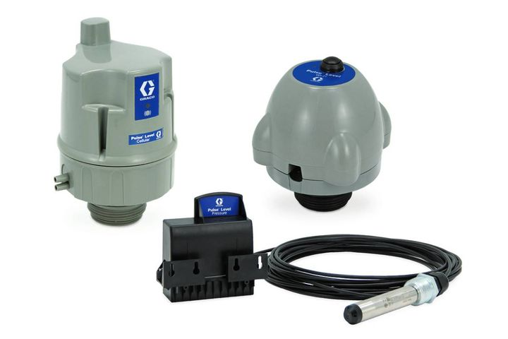 The Pulse level system allows you to track tank levels, capture and apply data, and allocate inventory quickly, accurately, and confidently. - Photo: Graco