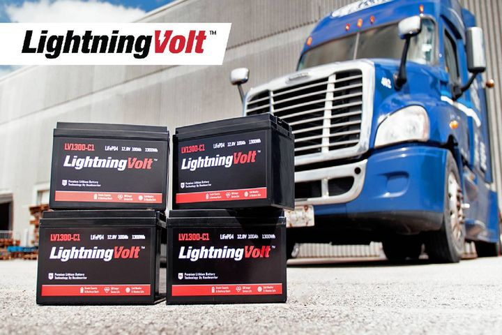 LightningVolt batteries are designed in Canada to withstand cold and demanding conditions. - Photo:Roadwarrior