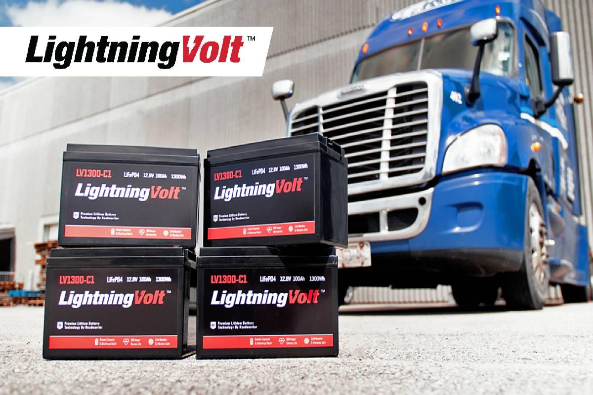 Roadwarrior's LightningVolt Batteries