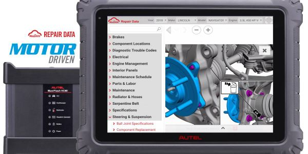 The database provides technicians with comprehensive repair data, including repair procedures,...