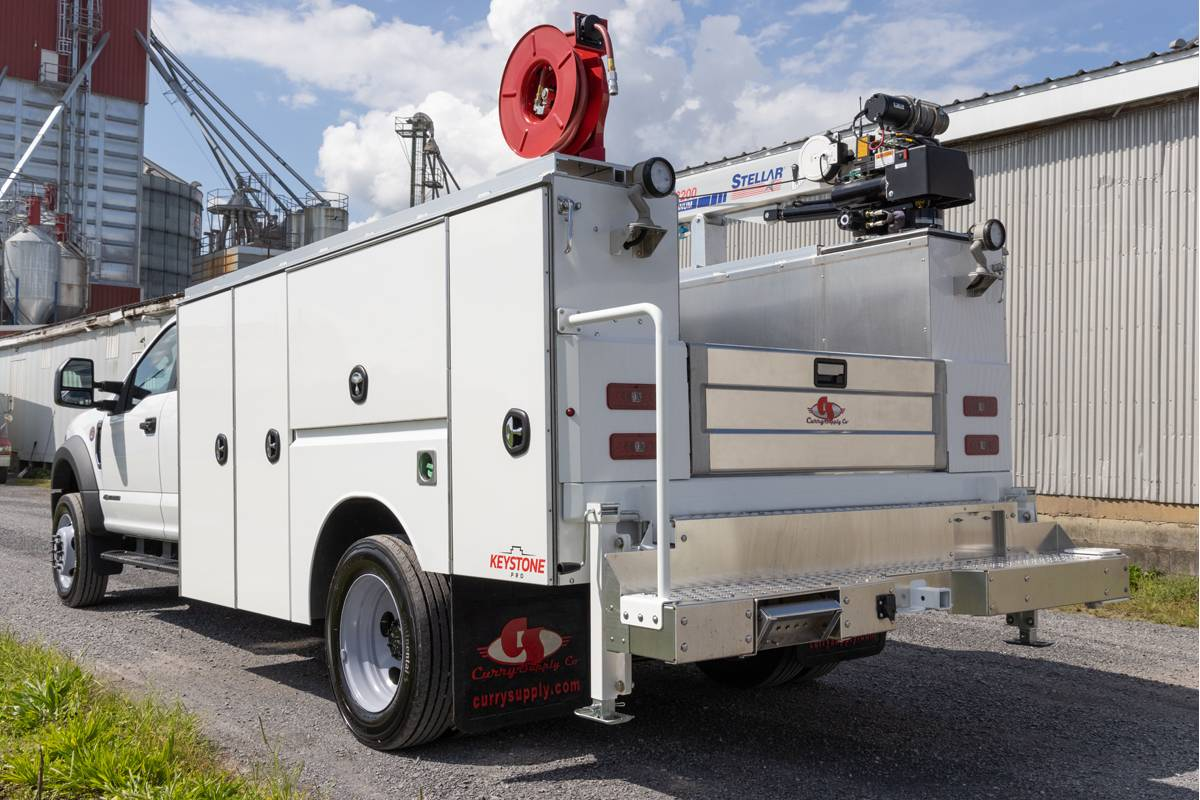 Curry Supply Launches Heavy-Duty Keystone Line of Service Trucks