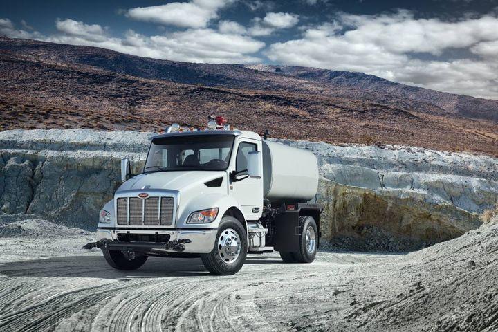 Peterbilt will display its lineup of medium-duty work trucks at The Utility Expo show in Louisville, Kentucky, from September 28-30. - Photo: Peterbilt