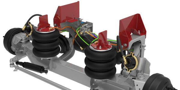 Link's automated ROI self-steer and non-steer auxiliary suspension systems will increase asset...