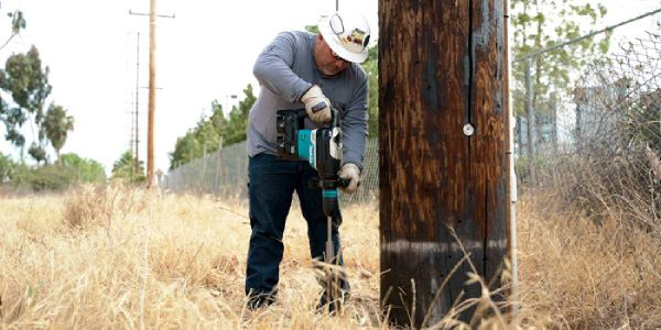 Makita cordless technology gives linesmen and utility installers increased efficiency with lower...