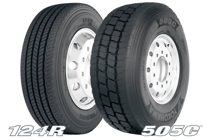 Yokohama Tire's commercial lineup has expanded again with the release of the 124R and 505C. - Photo: Yokohama Tire