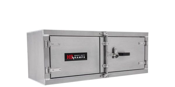 The weatherproof toolboxes are lightweight and available in six sizes.