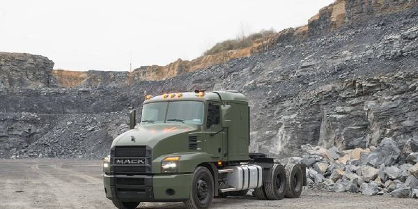 Built on the commercially available Mack Granite chassis but with a Mack Anthem cab, the line...