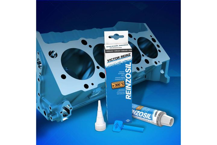 A permanently elastic, universal silicone sealing compound, Reinzosil provides superior resistance to fluids and extreme temperatures. - Photo: Dana