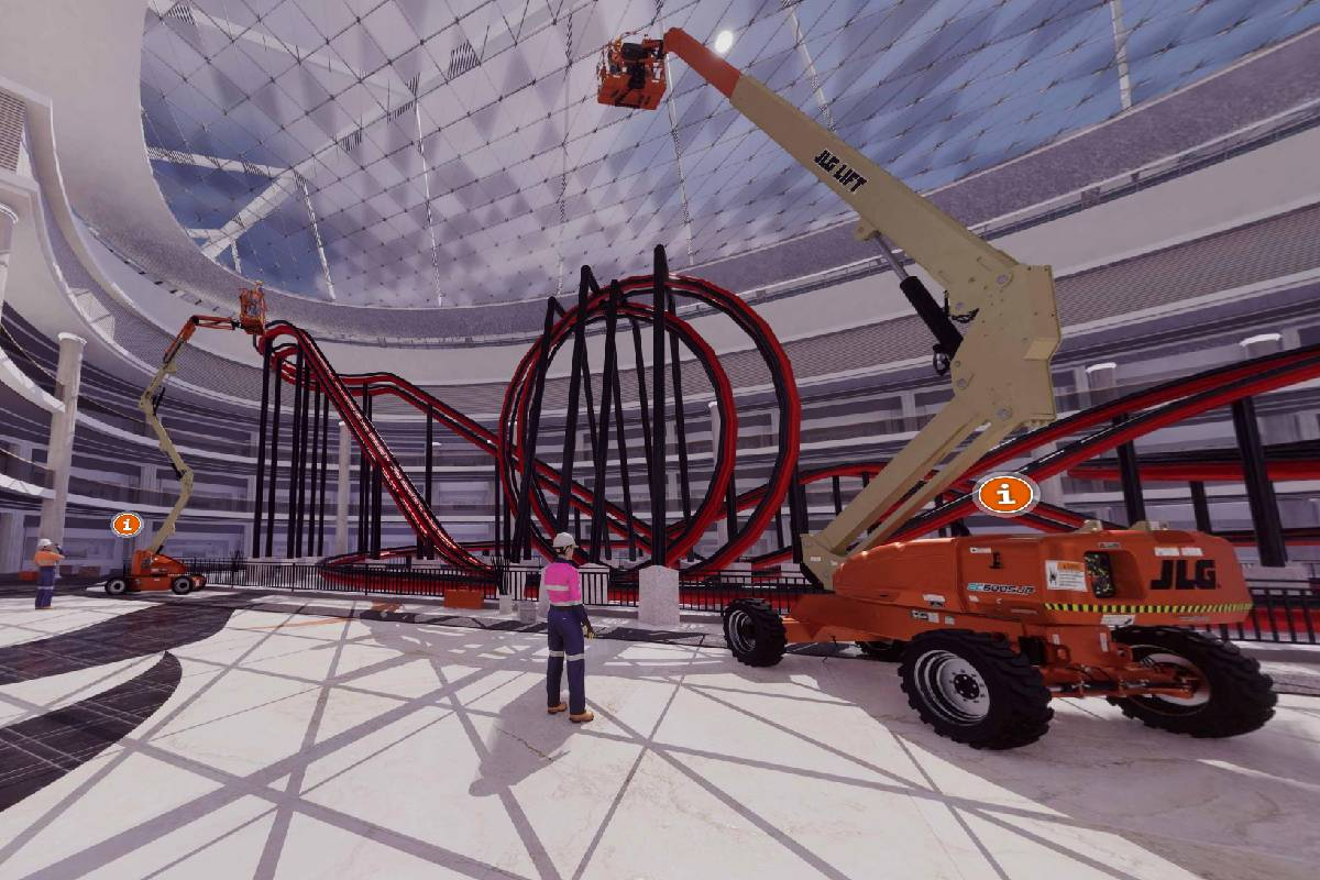 New Job Site Opens in JLG Virtual Experience