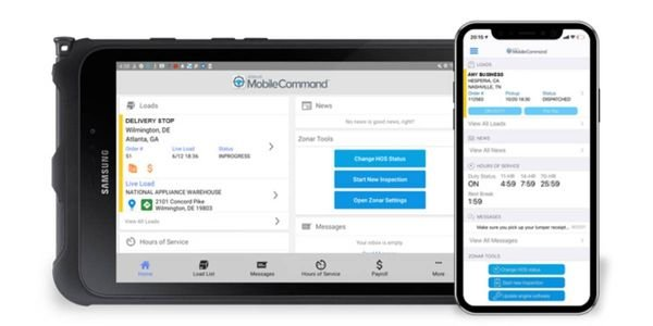 The mobile driver workflow platform improves the productivity and efficiency of over-the-road...