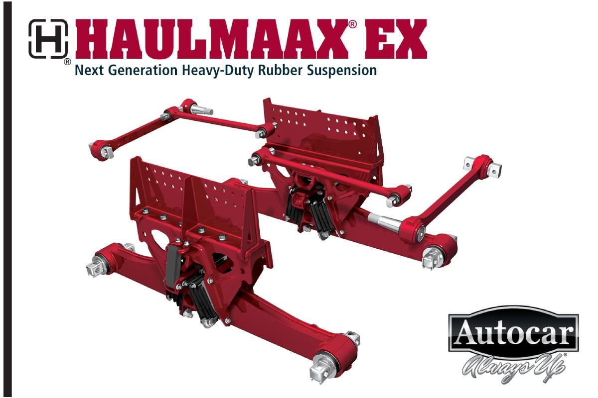 Hendrickson Launches Haulmaax EX Suspension