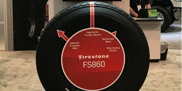Firestone FS860 Tire