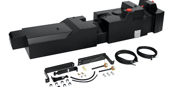 The F-150 diesel replacement tank is powder coated for a durable black finish with the optional...