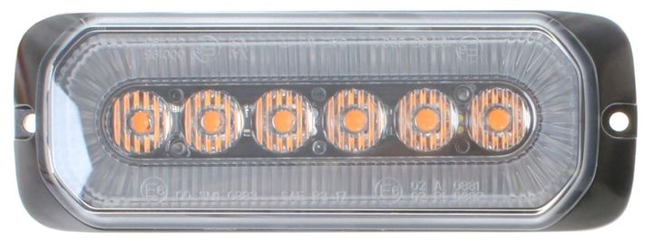 With a voltage range of 12-24VDC, this LED module has an output of 9 watts.  - Photo courtesy of SSI.