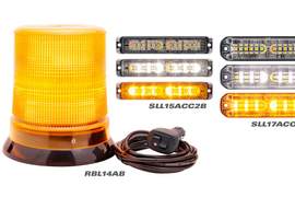 Optronics LED Warning and Beacon Lamps Offer Several Flash Patterns